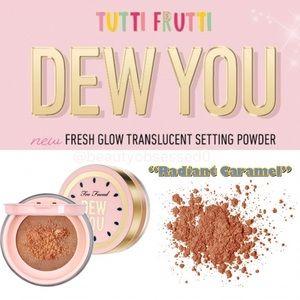 🆕⭐️ Dew You Fresh Glow Translucent Setting Powder